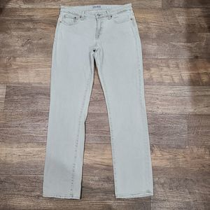 8 Lucky Brand Olive Sweet Straight Jeans